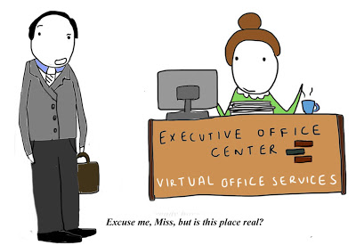 a real office
